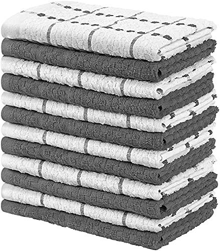 Utopia Towels - 12 Toallas de Cocina, paños de Cocina (38 x 64 cm,...