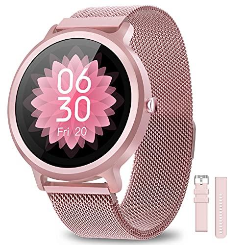 NAIXUES Smartwatch Mujer Reloj Inteligente IP68 con 24 Modos de...