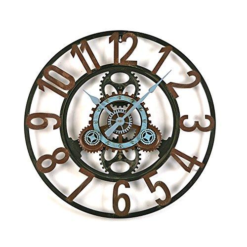 Versa London Reloj de Pared Silencioso Decorativo para la Cocina, el...