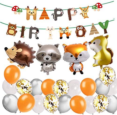 Decoraciones De Cumpleaños De Niño Korins Globos de animales del...