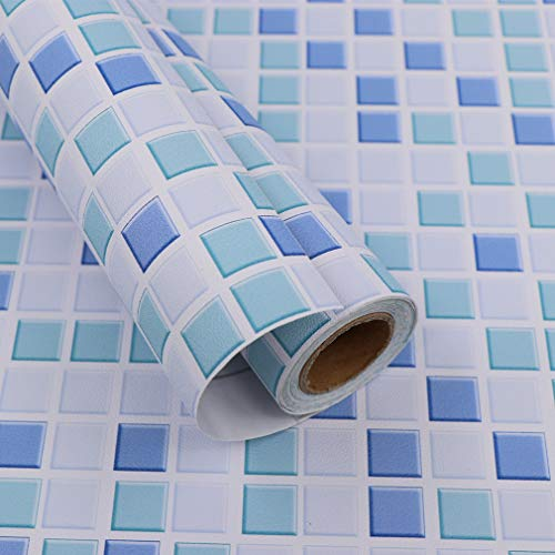 Hode Mosaico Vinilo Decorativos Adhesivo para Azulejos Cocina 40X300cm...
