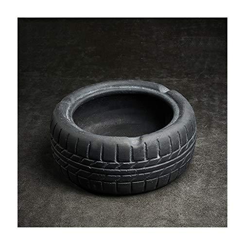Cenicero creativo Neumáticos de cemento Vintage cenicero, cigarros...