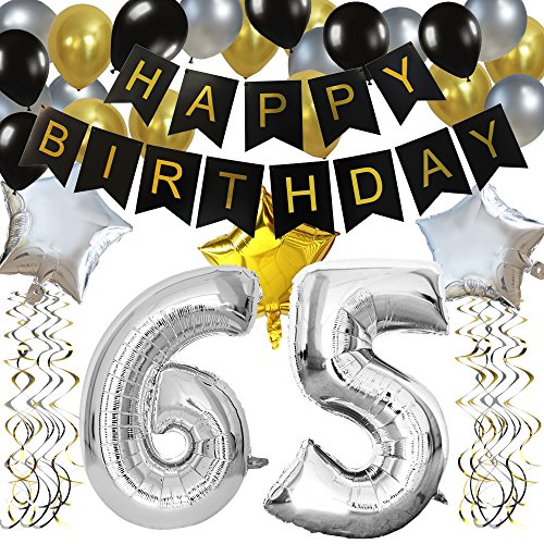 """KUNGYO Clásico Decoración de Cumpleaños -""""Happy Birthday""""..."""