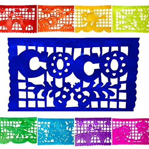 TexMex FunStuff Banderines Decorativos de Papel para Fiestas...