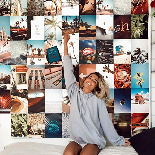 Flamingueo Fotos Pared Decoracion - 100 Fotos Decoracion Habitacion Tumblr, Decoracion Paredes Dormitorio, Decoracion Habitacion Juvenil, Vinilos Pared, Posters para Pared, Decoracion Hogar (Miami)