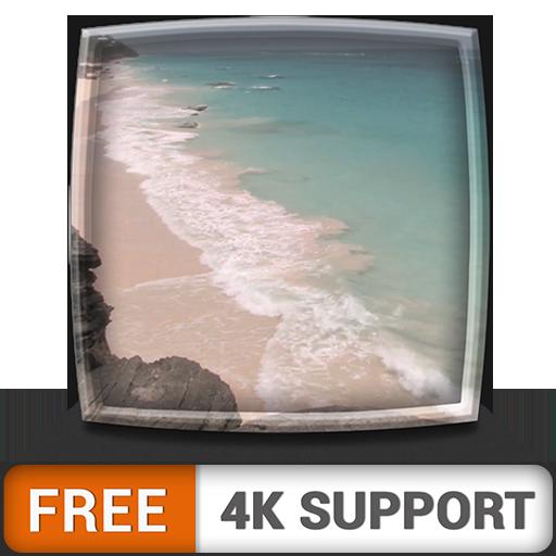 HD junto al mar gratis: disfrute del hermoso paisaje en su TV HDR 4K,...