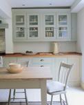 renovación de la cocina de madera con pintura acrílica Leroy Merlin acabado satinado gama de colores de pintura en la tienda