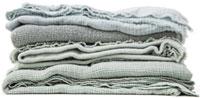 colección de sábanas, fundas nórdicas y cuadros escoceses en color té verde en Society para la colección primavera verano 2013