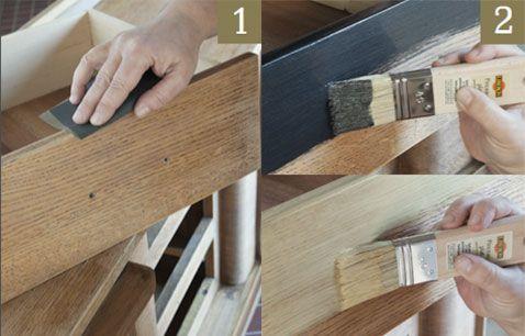 Para dar un efecto metálico empolvado o sedoso a tus muebles antiguos y carpintería, ¡aquí tienes los pasos a seguir para aplicar la pintura metalizada Libéron!