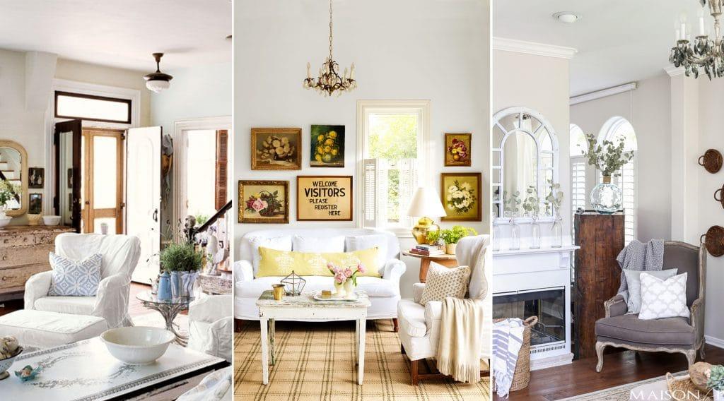 Decoración Chic-Shabby para el interior de tu hogar