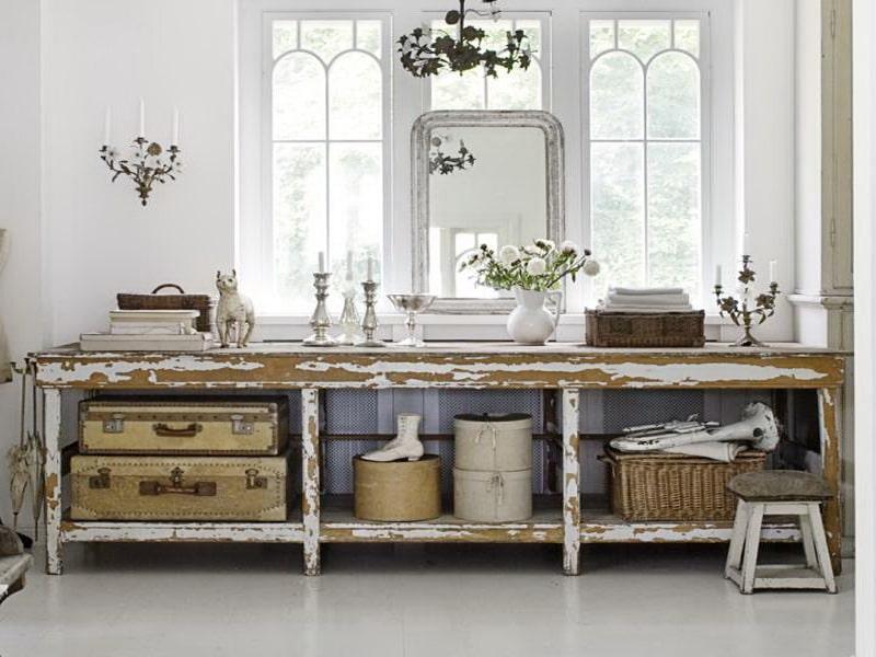 decoración de estilo vintage de interior para tu hogar