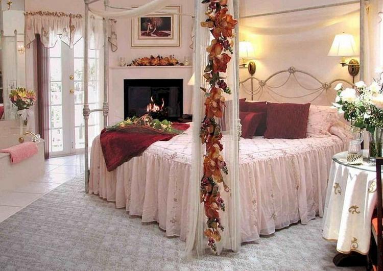 decoración romántica de interiores para su hogar