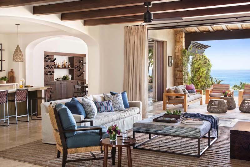 diseño de interior de estilo mediterráneo para hogar