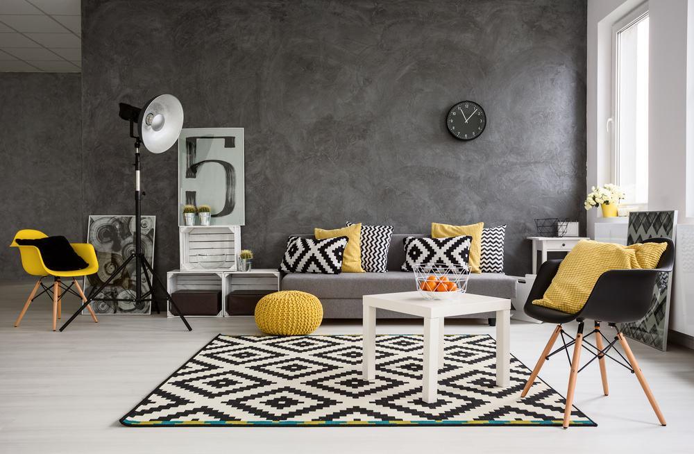 diseño de interior de estilo moderno para hogar