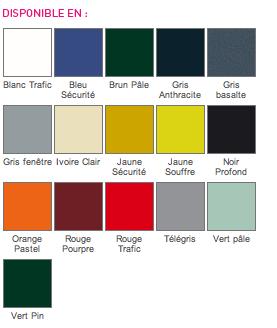 encimera de vidrio, elija los colores de la carta de colores luisina
