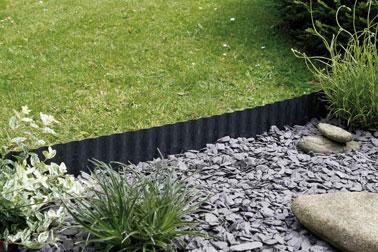 Bordes discretos y de moda para ajardinar tu jardín, ¡qué clase!  Déjate tentar por un borde de color topo o antracita de Nortene para embellecer la decoración