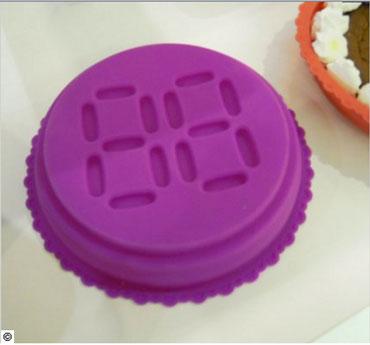 Molde de silicona para tartas que permite la impresión en relieve de edad para tartas de cumpleaños