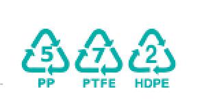 descifrado de los acrónimos utilizados para identificar los componentes de los objetos de plástico para elegir el pegamento adecuado para el bricolaje o la reparación de objetos