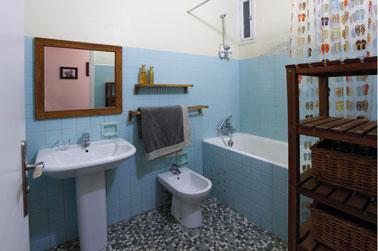 alicatado del baño antes de pintar el alicatado que oculta las juntas, Masqu'Carrelage