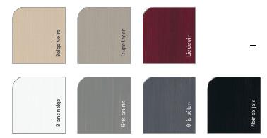 Con estos 7 colores, Marfil Beige, Taupe, Borgoña, Blanco, Gris Ratón, Gris Concreto y Negro, puedes pintar un mueble coordinando dos tonalidades para personalizarlo o utilizar uno de los colores en los muebles altos de la cocina, y otro para los de abajo, por ejemplo