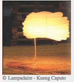 cómo hacer una lámpara de pie de libro de diseño con eyrolles, escrito por christopher stuart