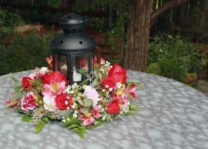 5 decoraciones de mesa para un banquete de bodas