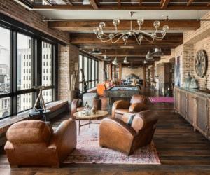 Loft estilo steampunk
