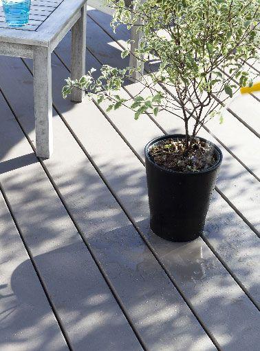 Limpiar, pintar y mantener una terraza de madera con pintura Sol Terrasse sin desengrasar ni imprimación V33