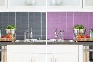 Pintura para azulejos de pared de cocina y baño, salpicaduras, paredes de ducha y todas las superficies de azulejos de pared