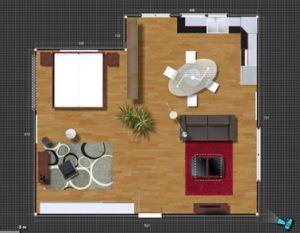 Software online gratuito de decoración y arquitectura Insidoo