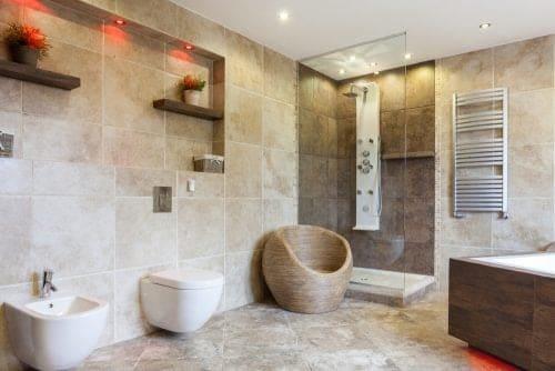 bidet de baño de diseño moderno