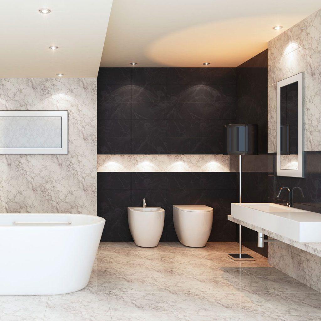 bidet de porcelana blanco para baño
