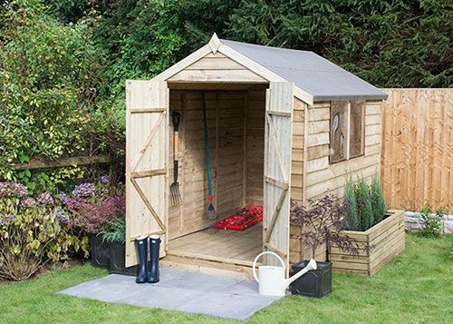 casetas de diseño de madera para jardín