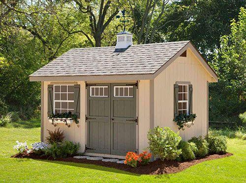 casetas de jardín de diseño elegante