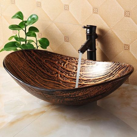 diseño zen de lavabo lujoso para baño