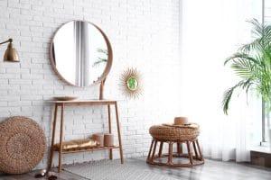 ¿Qué estilo de espejo debo elegir para mi salón?