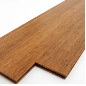 instale pisos de bambú en el baño.  el parquet de bambú es compatible con la fuente de agua y el suelo radiante