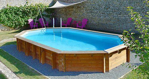 revestimiento de madera para piscinas desmontables