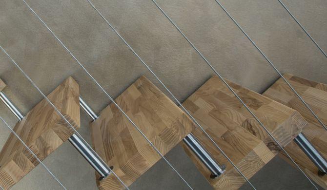 barandilla de escalera de alambre de acero_Cita de renovación