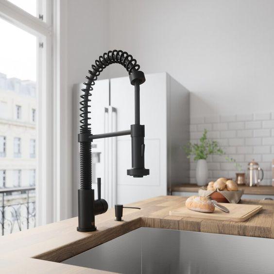 Tire hacia abajo del caño retráctil faucet_robinet