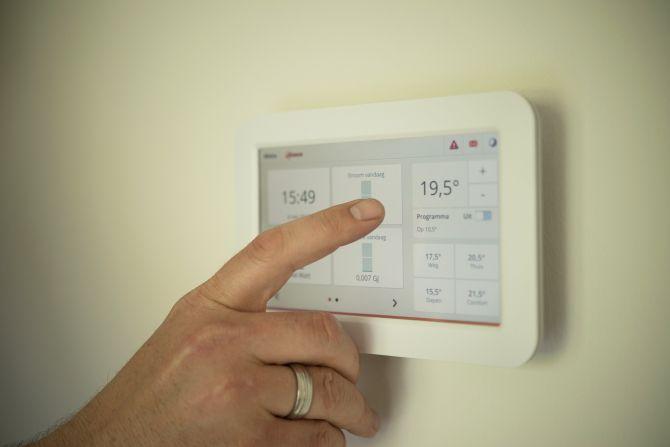 Programación de calefacción eléctrica