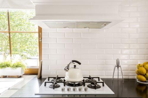placa para salpicaduras de cocina