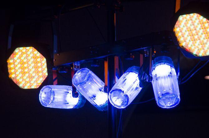 Luces de escenario LED