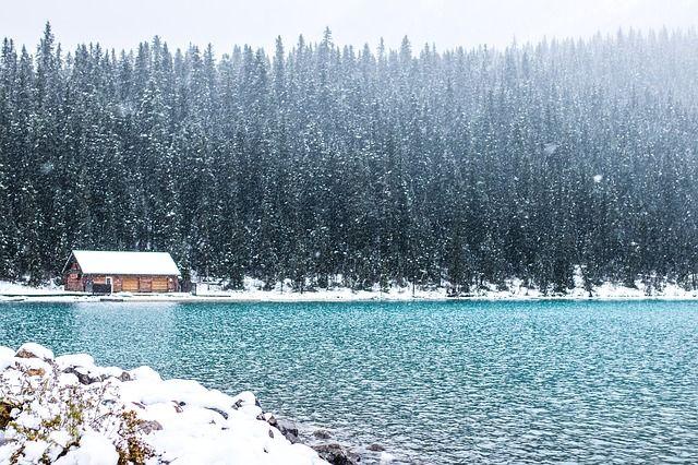 Aislamiento de chalet de nieve fría