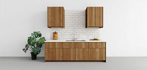 Bonito aparador de diseño para cocina