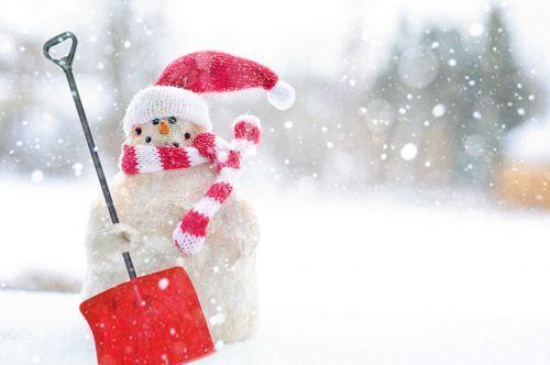 Muñeco de nieve de invierno