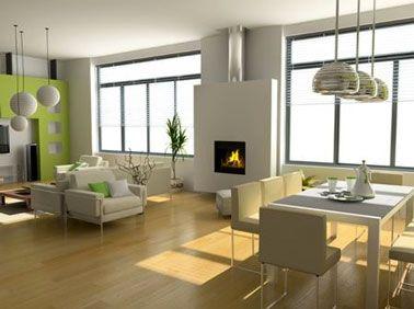 Para agrandar tu salón, 1er consejo, aligera el espacio, ordena, vacía el salón de pequeños muebles innecesarios y voluminosos