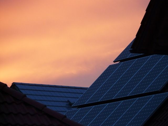 Casa ecológica con energía solar
