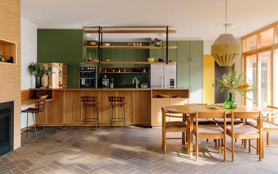 cocina interior sostenible