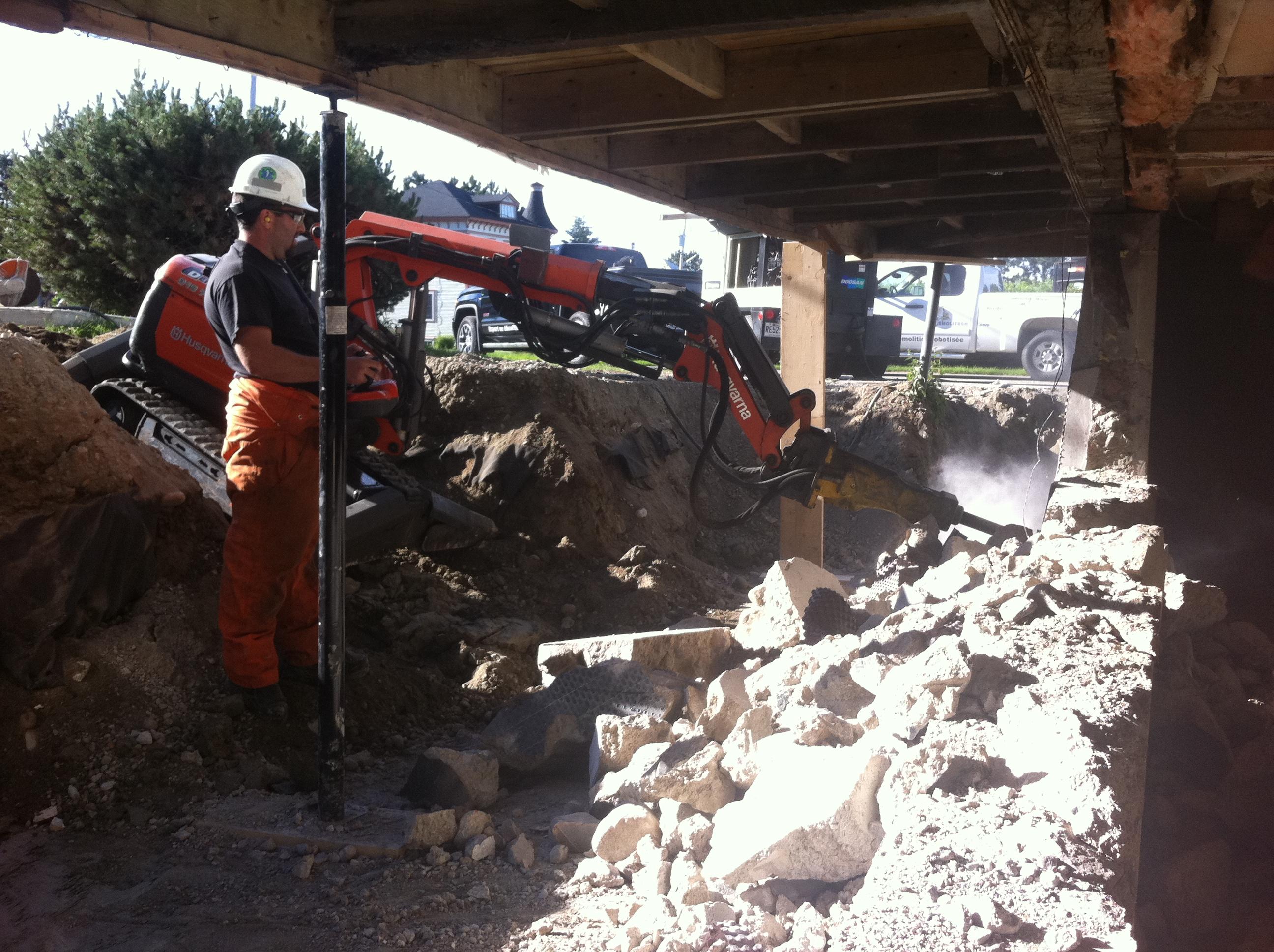 Renovación de cimientos